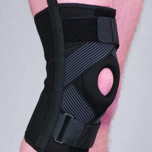 Orteza stawu kolanowego stabilizująca z taśmami (neopren perforowany)