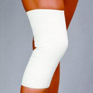 Opaska stawu kolanowego przeciwreumatyczna – z apreturą bursztynową