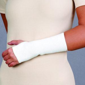 Opaska stawu nadgarstkowego przeciwreumatyczna – z apreturą bursztynową