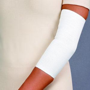 Opaska stawu łokciowego przeciwreumatyczna – z apreturą bursztynową