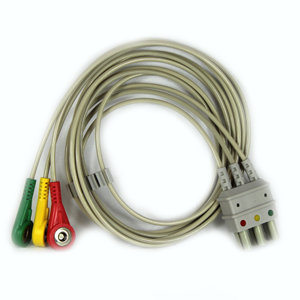 ECG Wire Cable 3-lead for Compact 5