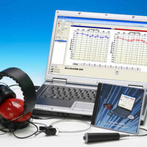 Screener Audiometer Oscilla? USB-300I